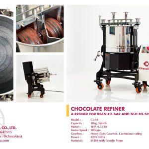 CHOCOLATE REFINER MODEL CL-10