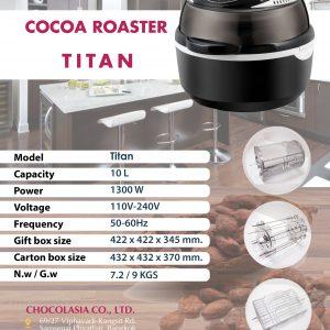 COCOA ROASTER TITAN