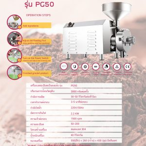 POWER GRINDER MODEL : PG50
