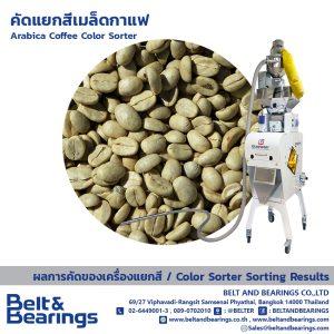 คัดแยกสีเมล็ดกาแฟ Arabica Coffee Color Sorter