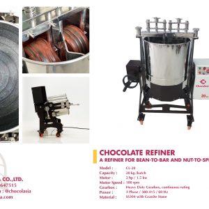 CHOCOLATE REFINER 20 KG MODEL CL-20